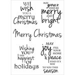 Kaisercraft - Yuletide Collection - Christmas - Clear Acrylic Stamp