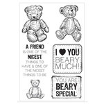Kaisercraft - Teddy Bears Picnic Collection - Clear Acrylic Stamp