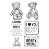 Kaisercraft - Teddy Bears Picnic Collection - Clear Acrylic Stamp