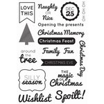 Kaisercraft - Clear Acrylic Stamp - Modern Christmas