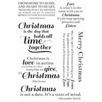 Kaisercraft - Clear Acrylic Stamp - Traditional Christmas