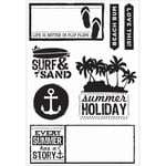 Kaisercraft - Sandy Toes Collection - Clear Acrylic Stamps