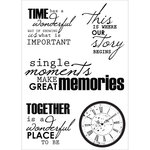 Kaisercraft - Antique Bazaar Collection - Clear Acrylic Stamps