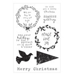 Kaisercraft - Home for Christmas Collection - Clear Acrylic Stamps