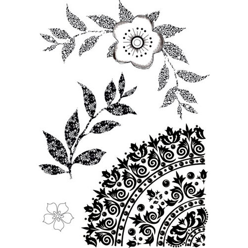 Kaisercraft - Blae and Ivy Collection - Clear Acrylic Stamp