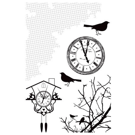 Kaisercraft - 13th Hour Collection - Halloween - Clear Acrylic Stamps