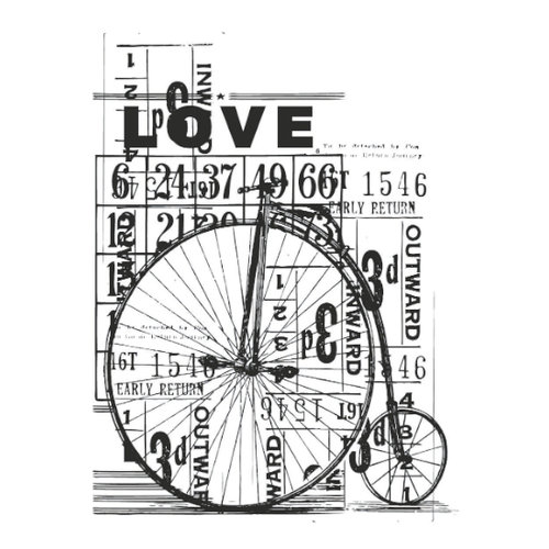 Kaisercraft - Vintage - Clear Acrylic Stamp - Love