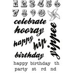 Kaisercraft - Save the Date Collection - Clear Acrylic Stamp
