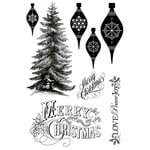 Kaisercraft - Turtle Dove Collection - Christmas - Clear Acrylic Stamp