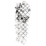 Kaisercraft - Texture - Clear Acrylic Stamp - Flutter