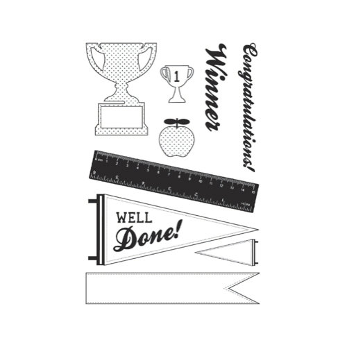 Kaisercraft - Class Act Collection - Clear Acrylic Stamp