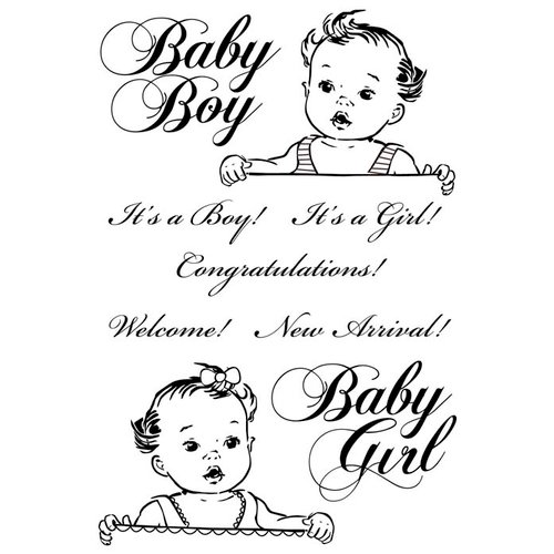 Kaisercraft - Bundle of Joy Collection - Clear Acrylic Stamp - New Arrival