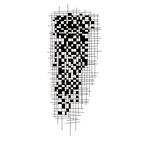 Kaisercraft - Texture - Clear Acrylic Stamp - Arty