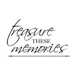 Kaisercraft - Clear Acrylic Stamps - Mini - Treasured Memories