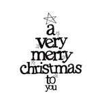 Kaisercraft - Clear Acrylic Stamps - Mini - A Very Merry Christmas