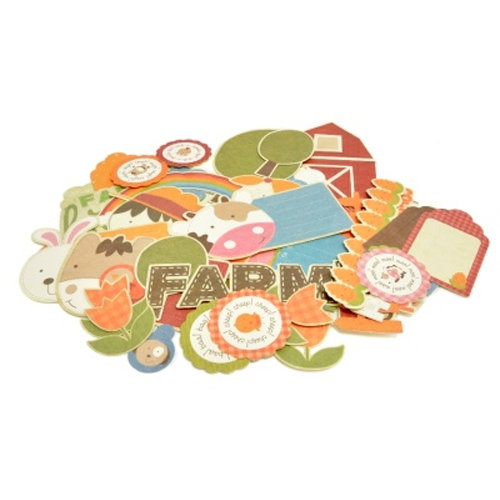 Kaisercraft - Cock-a-doodle-doo Collection - Collectables - Die Cut Cardstock Pieces