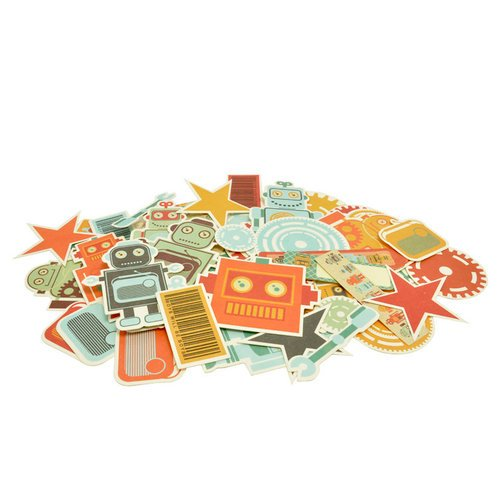 Kaisercraft - Technologic Collection - Collectables - Die Cut Cardstock Pieces
