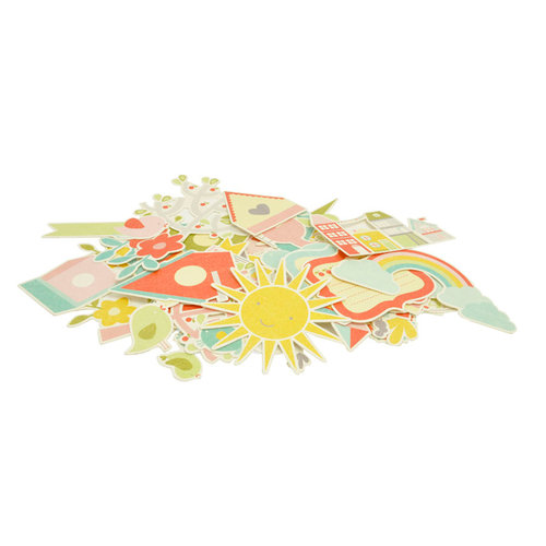 Kaisercraft - Fine and Sunny Collection - Collectables - Die Cut Cardstock Pieces