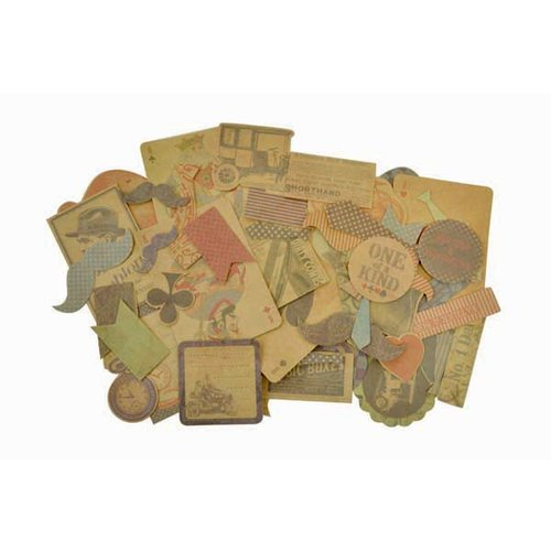 Kaisercraft - Sears and Son Collection - Collectables - Die Cut Cardstock Pieces