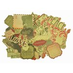 Kaisercraft - Twig and Berry Collection - Christmas - Collectables - Die Cut Cardstock Pieces