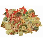Kaisercraft - Turtle Dove Collection - Christmas - Collectables - Die Cut Cardstock Pieces