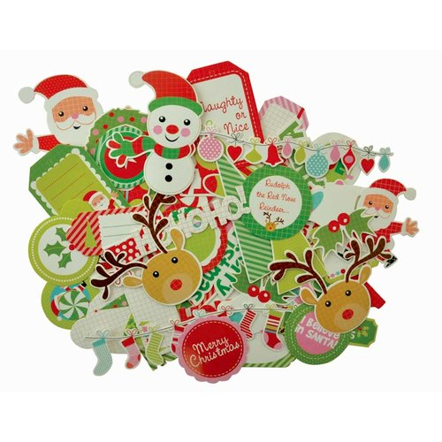 Kaisercraft - Mint Twist Collection - Christmas - Collectables - Die Cut Cardstock Pieces
