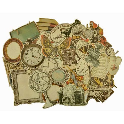 Kaisercraft - Timeless Collection - Collectables - Die Cut Cardstock Pieces - Icons