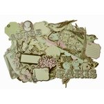 Kaisercraft - Bonjour Collection - Collectables - Die Cut Cardstock Pieces