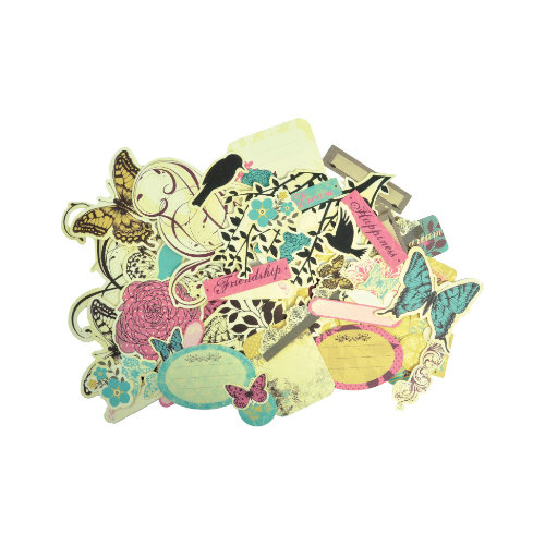 Kaisercraft - Botanical Odyssey - Collectables - Die Cut Cardstock Pieces