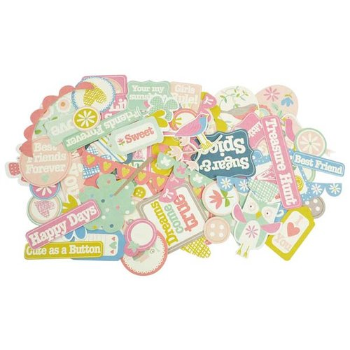 Kaisercraft - Suga Pop Collection - Collectables - Die Cut Cardstock Pieces