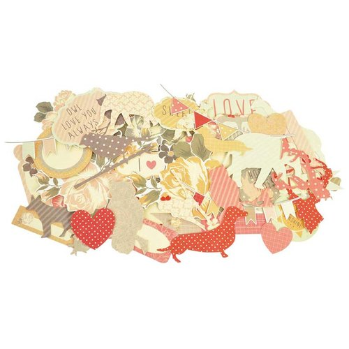 Kaisercraft - Sweet Pea Collection - Collectables - Die Cut Cardstock Pieces