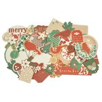 Kaisercraft - Holly Bright Collection - Christmas - Collectables - Die Cut Cardstock Pieces