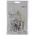 Kaisercraft - Pitter Patter Collection - Collectables - Die Cut Cardstock Pieces - Boy