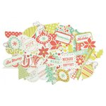 Kaisercraft - Mistletoe Collection - Christmas - Collectables - Die Cut Cardstock Pieces
