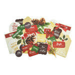 Kaisercraft - Basecoat Christmas Collection - Collectables - Die Cut Cardstock Pieces