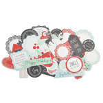 Kaisercraft - North Pole Collection - Christmas - Collectables - Die Cut Cardstock Pieces