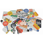 Kaisercraft - 2 Cool 4 School Collection - Collectables - Die Cut Cardstock Pieces