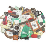 Kaisercraft - Antique Bazaar Collection - Collectables - Die Cut Cardstock Pieces
