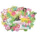 Kaisercraft - Say Aloha Collection - Collectables - Die Cut Cardstock Pieces