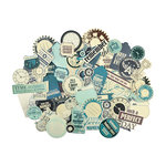 Kaisercraft - Time Machine Collection - Collectables - Die Cut Cardstock Pieces