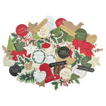Kaisercraft - Home for Christmas Collection - Collectables - Die Cut Cardstock Pieces