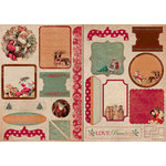 Kaisercraft - Tis The Season Collection - Christmas - Die Cuts, CLEARANCE