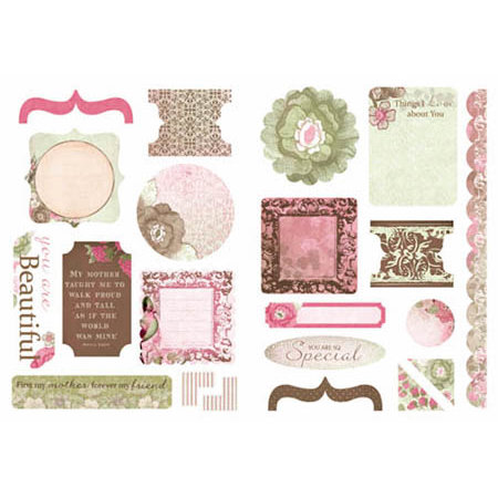 Kaisercraft - Chanteuse Collection - Die Cuts - Elements