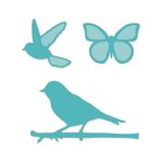 Kaisercraft - Decorative Dies - Birds and Butterflies