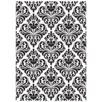 Kaisercraft - 5 x 7 Embossing Folder - Damask