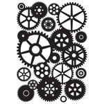 Kaisercraft - 4 x 6 Embossing Folder - Cogs
