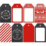 Kaisercraft - North Pole Collection - Christmas - Tags