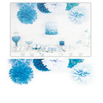 Kaisercraft - Pop Collection - Tissue Paper Pom Poms - Bubblegum Blue - 3 Pack