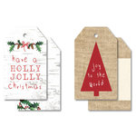 Kaisercraft - Home for Christmas Collection - Tags