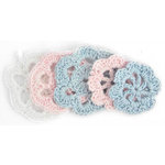 Kaisercraft - Mini Crochet Doilies - Nursery